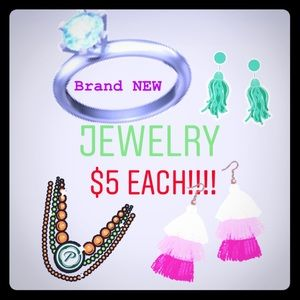 $5 each!!!!! NEW JEWELRY! What a deal!